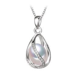 Form-Zubehör-Perle bördelt Querpunkanhänger