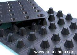 De HDPE da cavidade da placa de drenagem de plástico para plantio Sistema de Telhado Verde/material de construção e material Civil/ membrana impermeável