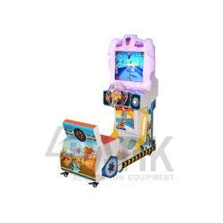Les jouets de la rédemption des jeux de Ticket Redline Rush voiture de la concurrence dans la machine d'arcade à haute vitesse