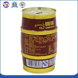 Custom Print устроенных правительством Пакистана торгах Раунда контейнера металлического олова Ring-Pull может