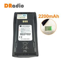 7.4V 2200mAh Li-ion batterie4497 Nntn Radio pour talkie walkie Motorola CP140/040/380 PE1400/3688150/450 DP3688gp Radio bidirectionnelle