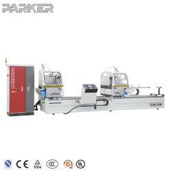アルミニウムプロファイル CNC 切削鋸機械とシュナイダーシステム