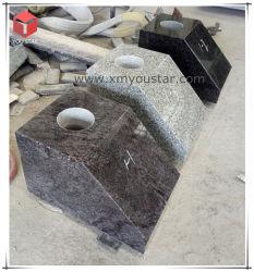 Кремации вазы Мемориал Urns похороны лампа черный серый гранит