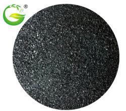 China Top 10 organische meststof oplosbare humiumzuur vlok/poeder