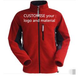 Laine Polaire de plein air de gros hommes enduire Veste d'hiver de vêtements chauds fabriqués en Chine usine fabricant Hoodies zip jusqu'personnaliser