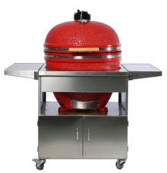 29inch Kamado Grill avec table en acier inoxydable
