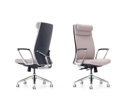 Venda por grosso de qualidade de alto luxo moderno PU ajustável de couro executiva ergonômico Cadeiras de escritório