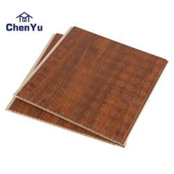 ASA-PVC بلاستيك خشبي مشوب بغطاء زخرفي للحائط الخارجي من البلاستيك المقشود لوحة التغليف