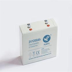 2 V 1200 Ah selada recarregável para comunicação da Estação Base