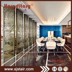 Os painéis de tela metálica perfurada de alumínio e decoração de interiores de casa