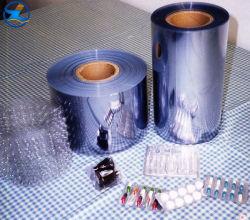 Limpar transparente de plástico rígido de películas PET Imprimir folha de PVC filme para bandejas de medicina e embalar alimentos