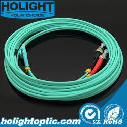 LC à ST Dx Om3 3.0m Mode simple cordon de raccordement à fibre optique bleu