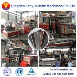 Покрытия и обработка поверхности УФ использования внутри помещений пластиковый ПВХ/ВКН/Spc пол машины экструдера