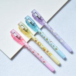 3 en 1 luz Pen tinta invisible Invisible rotulador de tinta permanente construido en la luz UV Magic Ball Pen
