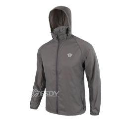 Servicio de OEM gris caminatas al aire libre & Camping Tactical chaquetas delgadas capa
