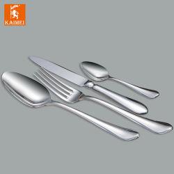 Fornecedor chinês Hotel Restaurant Wedding Louça 18/0 cheia de prata talheres de aço inoxidável definido