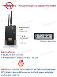 Spy Detector de bug de clientes de telemóveis GSM/Smartphone/Wireless Bug/Cameramade Sem Fio para uso geral, sem necessidade de treinamento eletrônico profissional ou de conhecimento.