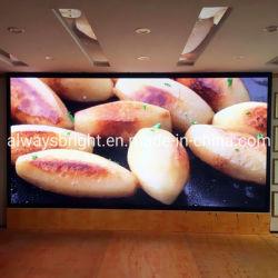 Atualização de alta 4K Indoor publicidade levou a tela na parede