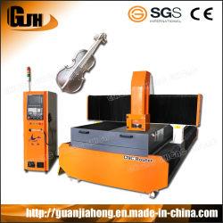 1225 el aluminio, cobre, la máquina de grabado de molde de metal blando, Router CNC