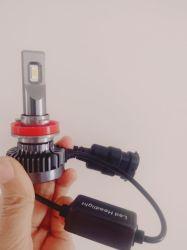 Fabricante de C6GT5 K5 H4 H1 H7 H11 9005 9006 Faro de automóvil LED 6000K 8000LM 72W luz antiniebla coche Accesorios Decoración Luz LED Canbus
