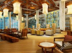 주문 파이브 스타 호텔 호화스러운 현대 단단한 나무 커피용 탁자 & 나머지 의자