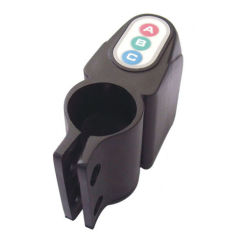 Allarme elettronico di vibrazione dell'allarme di sicurezza della bicicletta di sicurezza