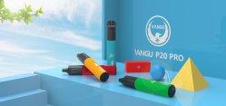 가장 저렴한 Vape Pen 2000 퍼프 전자 담배 일회용 Ecig 1100mAh 배터리 추가 충전 필요 없음 Mini Shape 투명 장착 오일 탱크