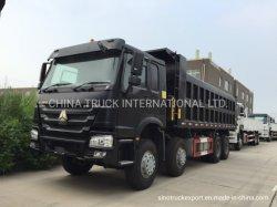 Usa Volquetes HOWO de segunda mano Sinotruk camiones volquete pesados camiones chinos mejores condiciones competitivas de las ruedas de 12, 8X4 50tons