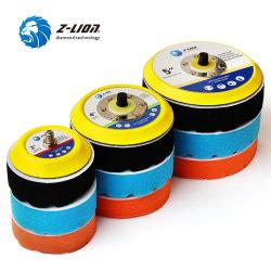 4PCS 3-5polegada encerar esponja Almofada de cuidados de polir os produtos de Polimento de Automóveis