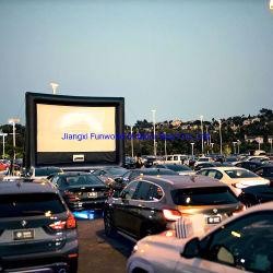 の膨張可能なカスタムシネマスクリーン密閉空気膨張可能な映画スクリーン 販売