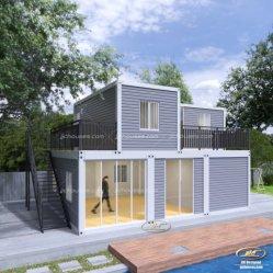 2 베드룸 확장 가능, 저렴한 휴대용 Sea Mobile Wholesale Shipping Tiny 조립식 모듈식 모바일 하우스 반장 컨테이너 집