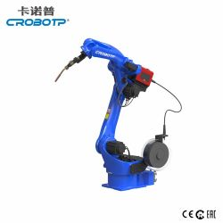Industrial Crobotp 1454mm de carga útil del robot soldadura MIG 10 kg