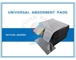 100% de PP não tecidos sentida almofada absorvente Universal de derramamento de óleo