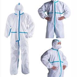 完全なボディ再使用可能な保護反ウイルスの保護スーツの衣類