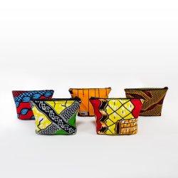 Changement de modèle d'Ankara Atyle africains Pocket petits sacs sac de pièces de monnaie
