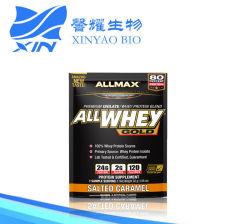 Allmax 영양, Allwhey 금, 100%년 유장 단백질 + 우수한 유장 단백질 격리된 것, 소금에 절이는 캐러멜, 1.06 Oz (g) 30