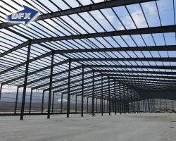 プリファブ式可変ヘビーデューティ大型スパンメタルモジュール式ワークショップ 倉庫金属ビル工業ホール工場鋼構造