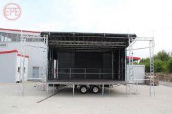 알루미늄 휴대용 이동식 야외 콘서트 심플한 이벤트 디스플레이 스탠드 표시