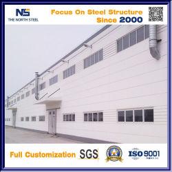 Diseño personalizado de la casa de estructura de acero galvanizado prefabricados Estructura de acero de la viga H