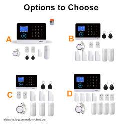 Tuya WiFi Wireless GSM alarmsysteem in meerdere talen Kit met gesproken instructies