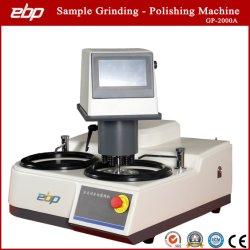 De dubbele Machine van de Steekproef van Platen volledig Automatische Metallographic Malende Oppoetsende