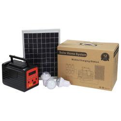 20W DC12V 태양광 전력 발전기 에너지 조명 시스템 TV 실행 및 팬