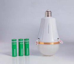 LED 15/20/25/30W Notaufladbare Wechselbatterie Energiesparlampe Glühlampe