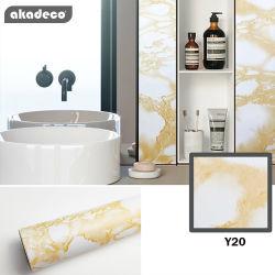 Gezondheid Van uitstekende kwaliteit van de Verkoop van Akadeco de Hete 122cm*50m Waterdichte Decoratie van het Huis van het Document van de Muur