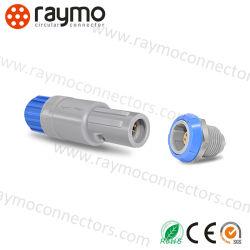 سدادة كابل موصل الدفع البلاستيكية الدائرية من سلسلة LEMO Redel PAG PKG PLG PRG