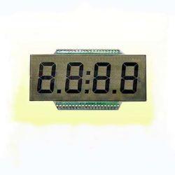 사용자 지정 흑백 회색 TN 7세그먼트 LCD 디스플레이(화이트 LED 백라이트