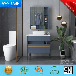 Loiça sanitária a madeira maciça móveis domésticos armário de banheiro vaidades definido pelo-X7195-80