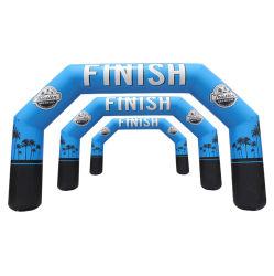 La publicidad personalizada de la promoción de carreras deportivas y de PVC o de poliéster (Arco inflable JMCQGM)