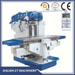 نوع الركبة من نوع ذاكرة الوصول العشوائي التقليدية نوع Universal Horizontal CNC عمودي قوي قطع ماكينة التفريز/المطحنة الكبيرة للعمل في قطع المعادن