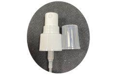 18/410 Botella de plástico de color blanco de neblina de piezas de tapón de rosca de la pulverizadora
